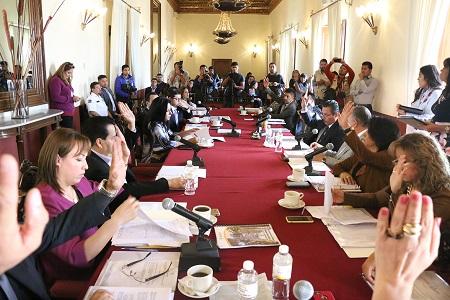 Aprobó Cabildo capitalino, proyecto de Ley de Ingresos 2018