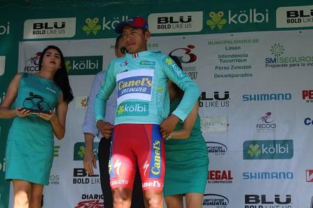 Efrén Santos de Canel´s Specialized, mantiene liderato por puntos en Vuelta a Costa Rica