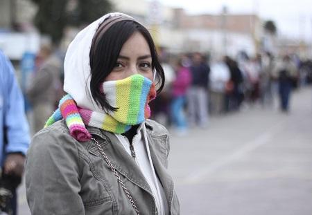 Frentes fríos, enfermedades respiratorias a la puerta.