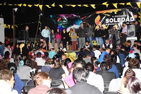 Ayuntamiento de Soledad, realizará posadas en colonias y comunidades