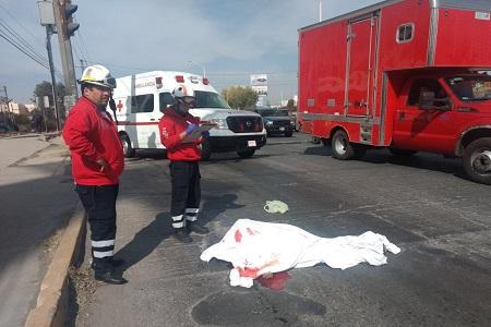Ciclista fue arrollado por trailer en la Carretera 57