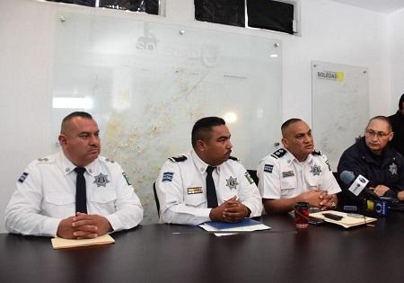 DGSPM de Soledad rindió su informe anual de actividades