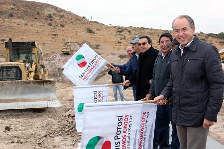 Tras una década de espera, JM Carreras inició la construcción de la presa La Cantera