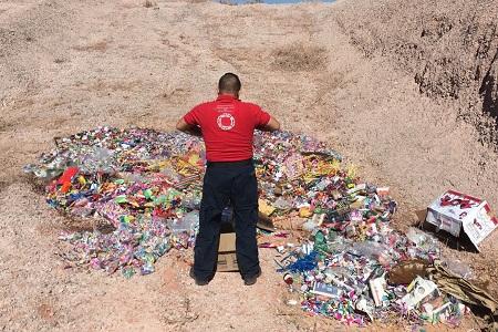 Participa Protección Civil de Soledad en destrucción de casi 2 toneladas de pirotecnia