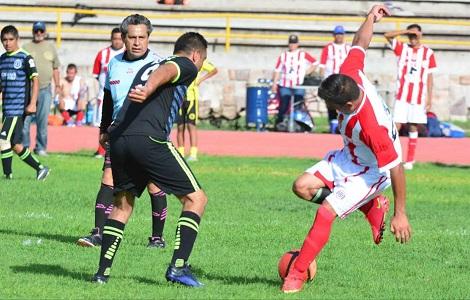 Cronistas Deportivos rescataron un punto, en Veteranos de la Liga Central