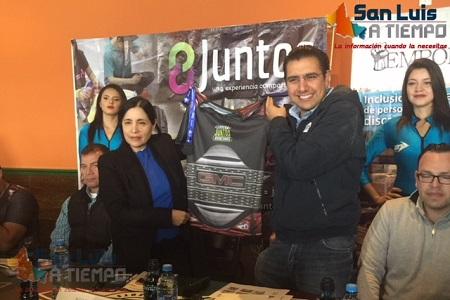 """Presentaron la Carrera Atlética """"Juntos Avanzamos"""""""