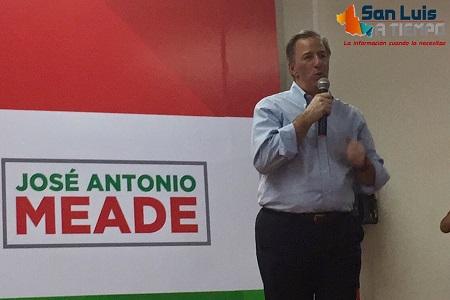 """""""Los Meade y el Padre Peñalosa, dirían que vamos a ganar""""; asegura JAM ante priístas  [VIDEO]"""