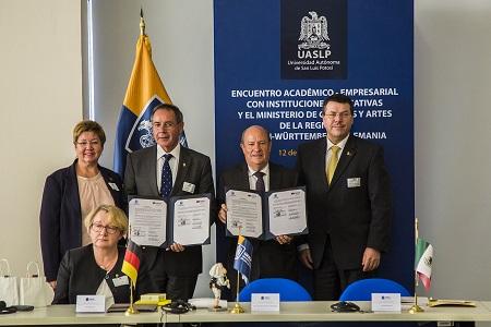 UASLP reafirma relación con universidades del sur de Alemania