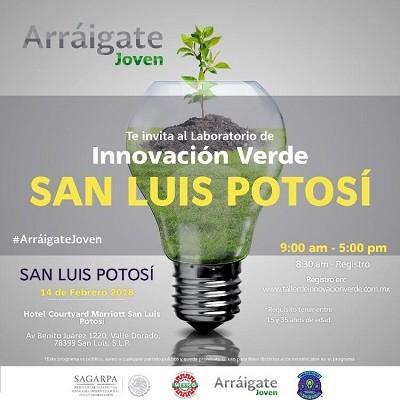 Invita SAGARPA al Taller Innovación Verde