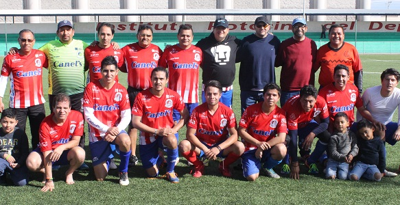 Gran remontada de los Cronistas Deportivos Don Tacho