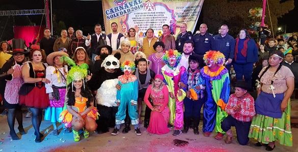 Carnaval 2018 en Soledad, lleva magia y sana diversión a miles de familias  [Fotogalería]