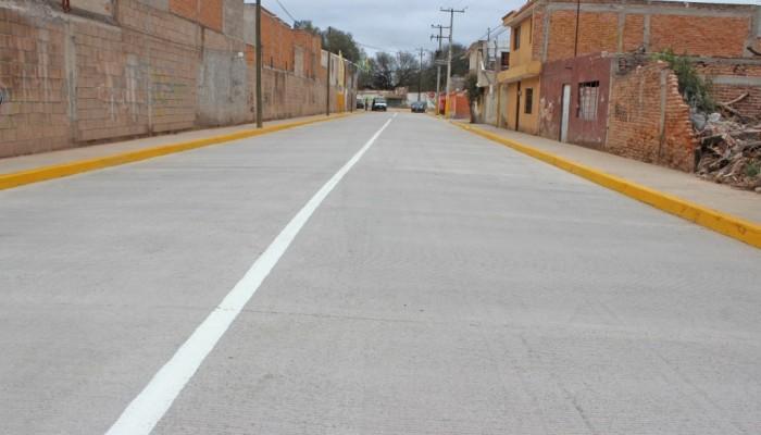 Ayuntamiento de Soledad, inauguró obra de pavimentación en la Colonia Providencia