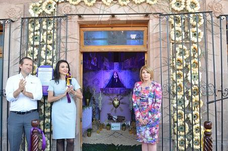 El Altar de Dolores, luce en el Centro Cultural Palacio Municipal