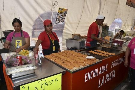 Comercio de Soledad y Coepris, revisan establecimientos de comida en la vía pública