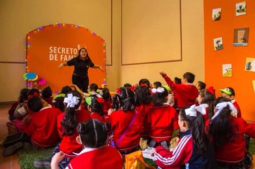 Imagina, proyecto para niños en la Feria Nacional del Libro 2018 de la UASLP