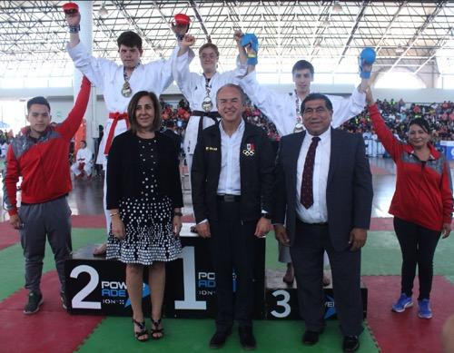 JM Carreras inauguró el XXVI Campeonato Infantil y Juvenil de Karate Do