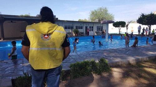 Protección Civil de Soledad, revisa balnearios y centros recreativos