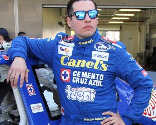 Héctor Aguirre continúa con Canel´s Racing en NASCAR México 2018