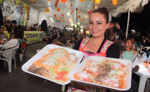 Esperan más de 90 mil turistas en Soledad por la Feria de la Enchilada