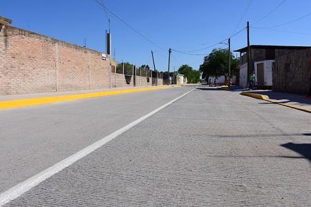 Habitantes de Rancho Nuevo avalan pavimentación de Avenida Las Américas