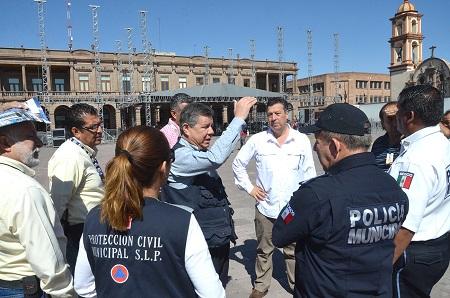 Direcciones municipales supervisan sedes del Festival de la Cantera