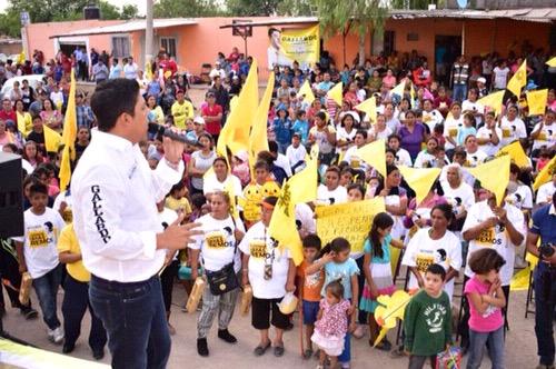 Garantizaré que recursos federales se apliquen en obras sociales: Gallardo Cardona