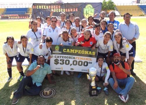 FCA's Atlético del Chapu se coronaron Campeonas de la Copa Soledad 2018