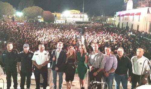 Impresionante clausura de la Feria Nacional de la Enchilada 2018 [Fotos y Video]