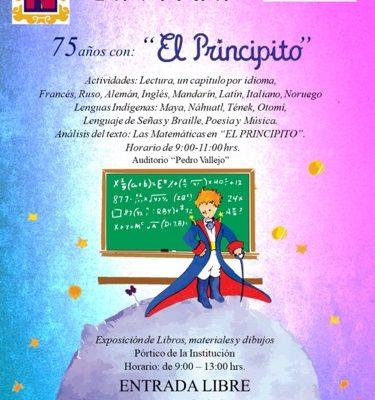 """Licenciatura en Educación Secundaria de la Becene, invita a 75 Años con """"El Principito"""""""