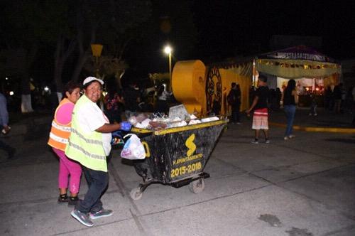 Servicios municipales brindó un eficiente servicio de recolección de basura en la FENAE