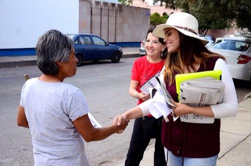 Inseguridad, principal preocupación de los potosinos: Paloma Aguilar
