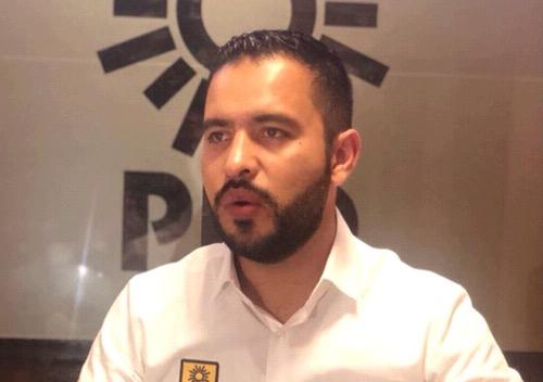 Emplaza PRD a Fiscalía a que informe sobre denuncias de candidato