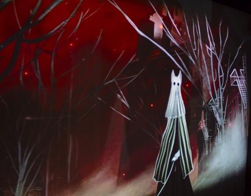 """""""Conejos blancos la puesta en espejos"""", muestra audiovisual en el Museo Leonora Carrington"""