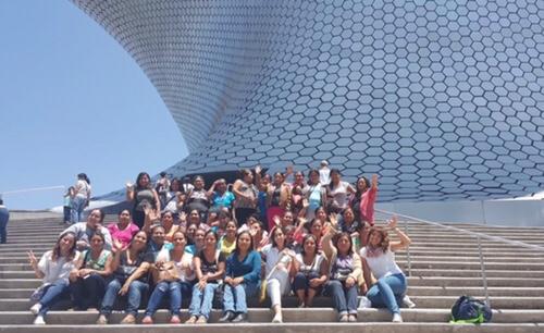 36 artesanas y productoras de la Huasteca, viajaron a la CDMX