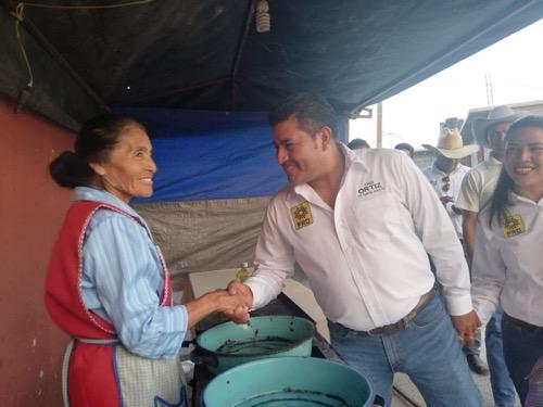 Salud, educación, deporte, agricultura y turismo, pilares para el desarrollo de Mexquitic: Jorge Ortiz