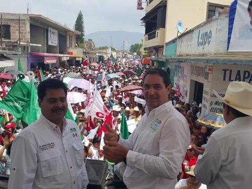 Seré un gran gestor de recursos para Ciudad del Maíz y toda la Zona Media: Luis Mahbub