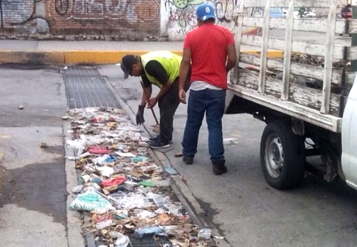 Ante inicio de la temporada de lluvias, piden a soledenses no tirar basura en la vía pública