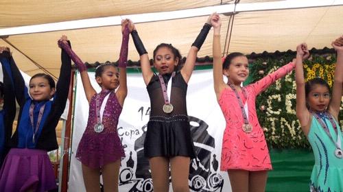 Un éxito la XIV Copa Inpode de Patinaje Artístico