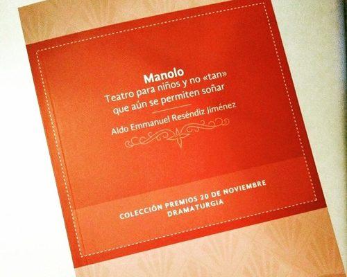 """Presentarán el libro """"Manolo"""" de Aldo Resendiz en la biblioteca del CEART"""