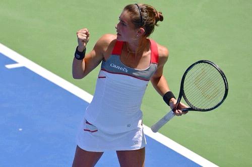 Pierde Marcela Zacarías en dobles y singles del Torneo Conchita Martínez en España.