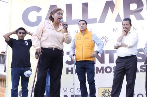 Mayor acceso a la salud para madres de familia, promete Leonor Noyola