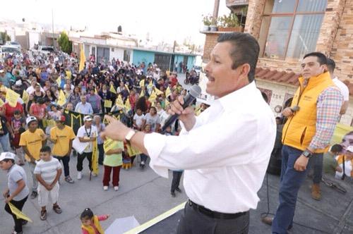 Duplicaremos el número de beneficiarios de programas sociales: Ricardo Gallardo Juárez