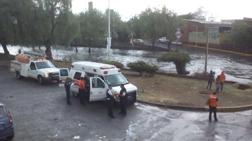 Protección Civil Municipal reporta rescate de vehículos y árboles caídos