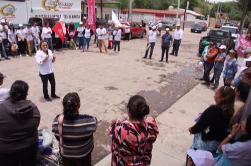 Devolver la seguridad a San Luis, una prioridad: Cecy González