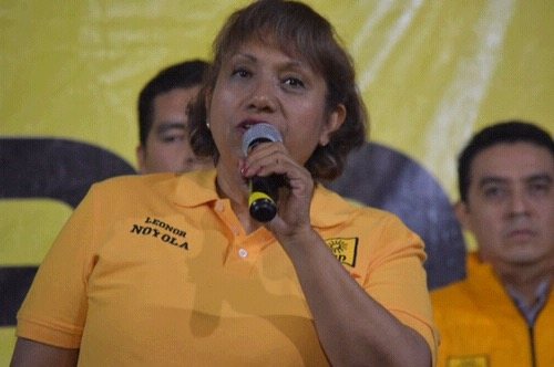 Leonor Cervantes pugnará por derogación de la Ley de Seguridad Interior