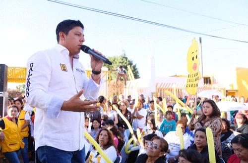 Impulso a las energías renovables, para beneficio de la gente: Ricardo Gallardo Cardona