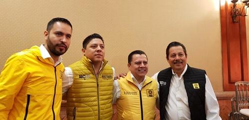 Candidatos del PRD reafirman tendencia ganadora en SLP y Soledad