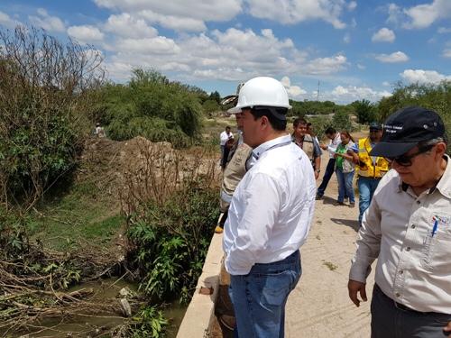 Supervisa INTERAPAS afluentes que afectan Zona Metropolitana
