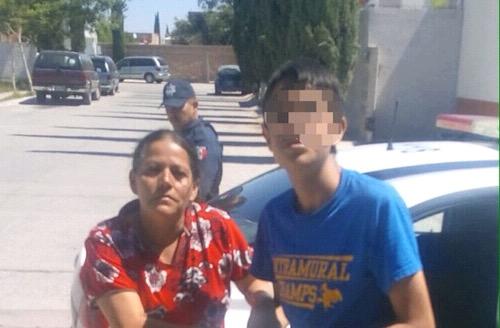 Localizan Policías de Soledad, a menor extraviado hace tres días