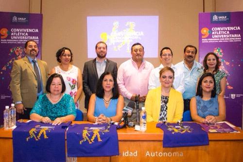 UASLP realiza la 9ª Convivencia Atlética Especial Universitaria